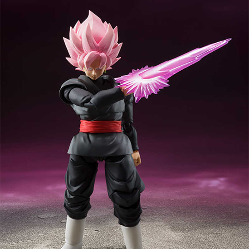New Dragon Ball Z Son Goku Preto Zamasu Brinquedos estatueta PVC Action Figure Model Collection Movable 14 centímetros de presente de natal