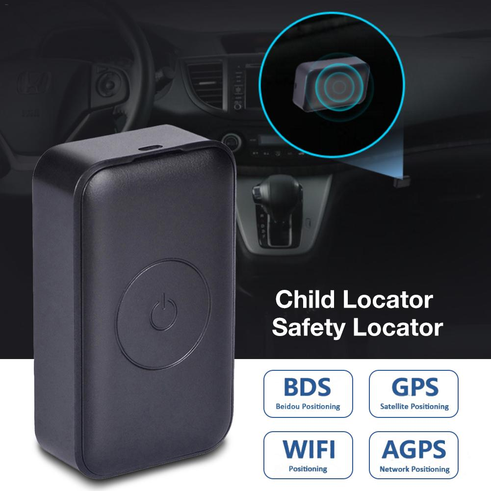 Hot Smallest Mini Anti theft Real time Tracking Voice Recorder Wifi GPS Tracker Locator For Kid Children Car Vehicle Motorcycle in GPS Trackers from Automobiles Motorcycles