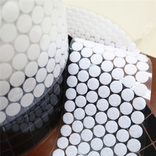 200pair Dot magic self-adhesive button Nylon elastic hook and loop fastener sheet holder DIY for bag shoes clothing decoration clothing and self worth