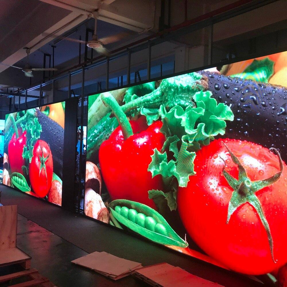 Pantalla Led de 4K píxeles pequeños P2.5 interior Full HD Led TV Panel Led señal de vídeo para publicidad, cine y eventos