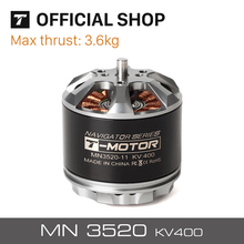 T-motor MN3520 400KV Lari Cepat Brushless Motor Desain Khusus untuk Multicopter Copter UAV RC Drone Quadcopter