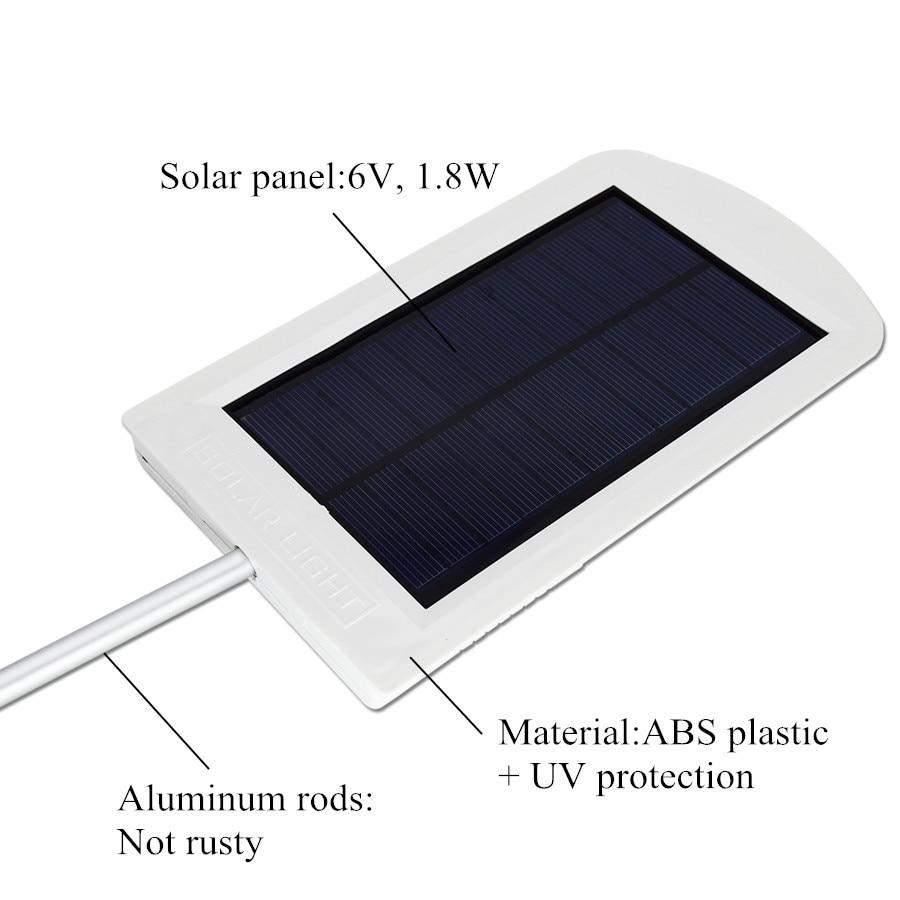 Straßenlaterne-Solar 15 LED-Licht wasserdichte helle - Außenbeleuchtung - Foto 2