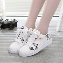 2016 fashion Women PU Leather Shoes Classic low/high style flat shoes brand Casual shoes
