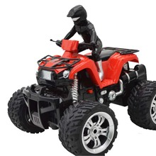 Four-way Remote Control Beach Motorcycle 360 Rotating Off-road Vehicle Toy Radio Racing Car