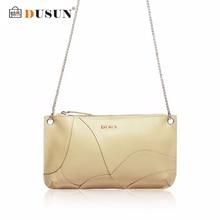 DUSUN Famous Brand Clutch Bag Genuine Leather Women Handbag Luxury Women Casual Shoulder Bag Vintage Handbags Bolsa Feminina