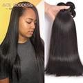 "Eurasian Virgin Hair Virgin Straight Hair 4pcs,Straight Virgin Hair 8""-30"" Remy Human Hair Weave Thick Ends And Full Bundles"