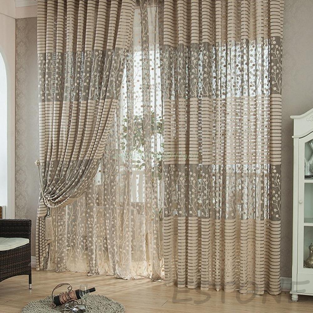 Compre estilo de moda de luxo cortinas de - Estilos de cortinas ...