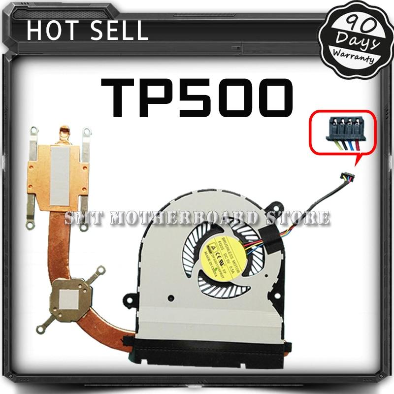For ASUS TP500 TP500L TP500LD TP500LJ TP500LN TP500LA Laptop CPU Cooling Fan Radiator Heat Sink Cooler Tested Well Free Shipping for asus u46e heatsink cooling fan cooler