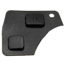 2 ключа резиновая кнопка дистанционного управления для Toyota Yaris Rav4 Corolla Mr2 Celica