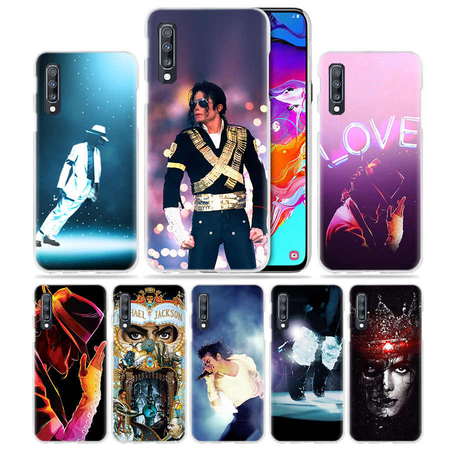 Michael Jackson Dance Case for Samsung Galaxy A50 A70 A20e A40 A30 A20 A10 A71 A51 5G A9 A7 2018 Hard Clear PC Phone Coque Cover