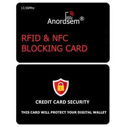 RFID Блокировка Карты, защита кредитной карты NFC банк дебетовый кошелек щит Блокировка идентификационных краж Предотвращение для безопаснос...