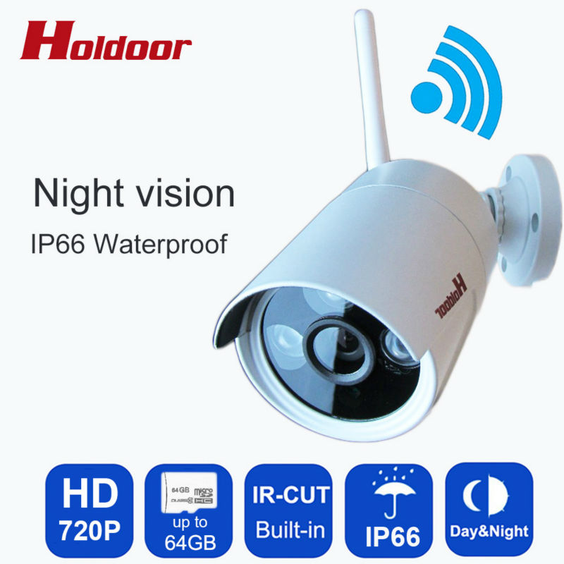ФОТО Onvif IP Camera WIFI Megapixel 720P HD Waterproof IP66 Wireless Security CCTV Cam Infrared SD Card Slot P2P Bullet Kamera