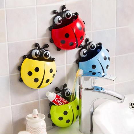Mariquita decoración cuarto de baño de los clientes ...