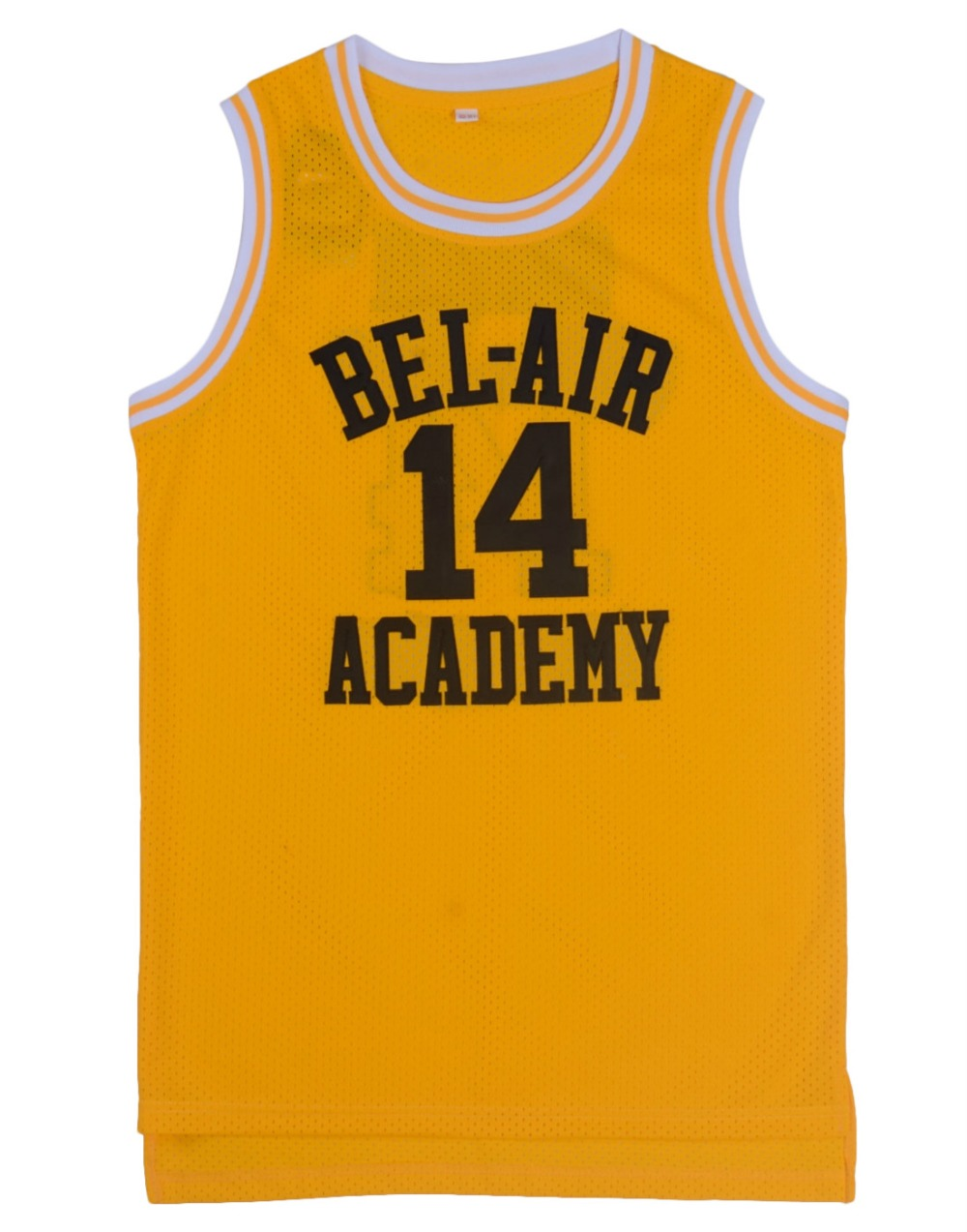 Prix pour EJ de Basket-Ball Jersey #14 Will Smith #25 Carlton Alfonso Banques Le Prince De Bel-Air Jersey cousu