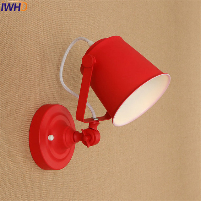 Retro Loft Style Industrial Wind LED Wall Sconce Up And Down Adjustable Iron Lamp Vintage Wall Light Fixtures Indoor Lighting