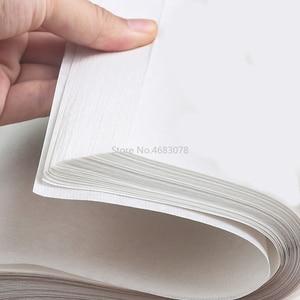 Image 3 - 100 ورقة شوان التقليدية الصينية شبه الخام الأرز ورقة اللوحة لوازم الخط