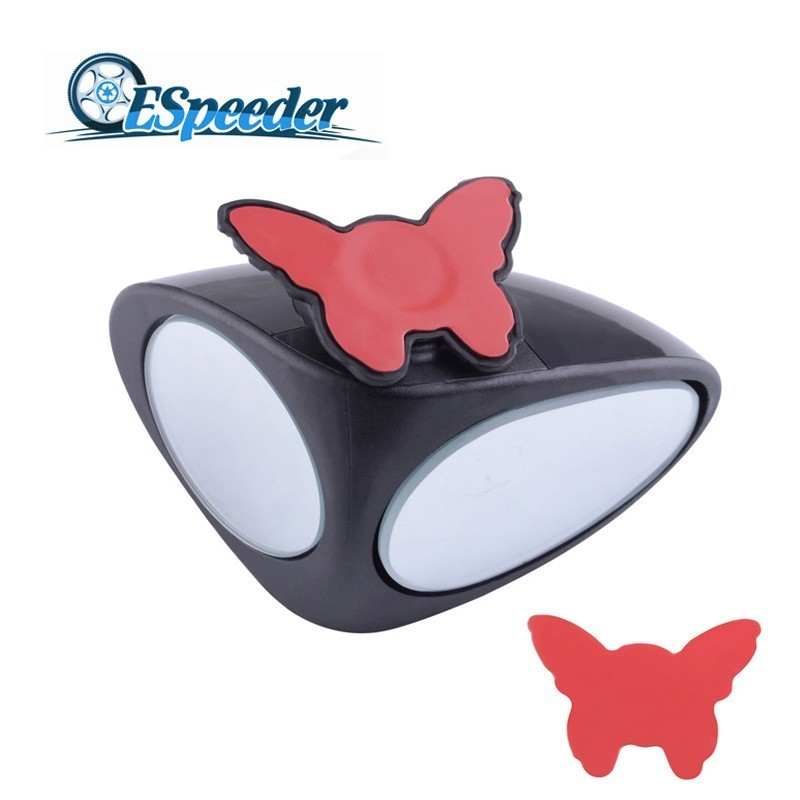 ESPEEDER Car Blind Spot Mirror Convex Rear View Mirror For Safety Wide Angle Rou