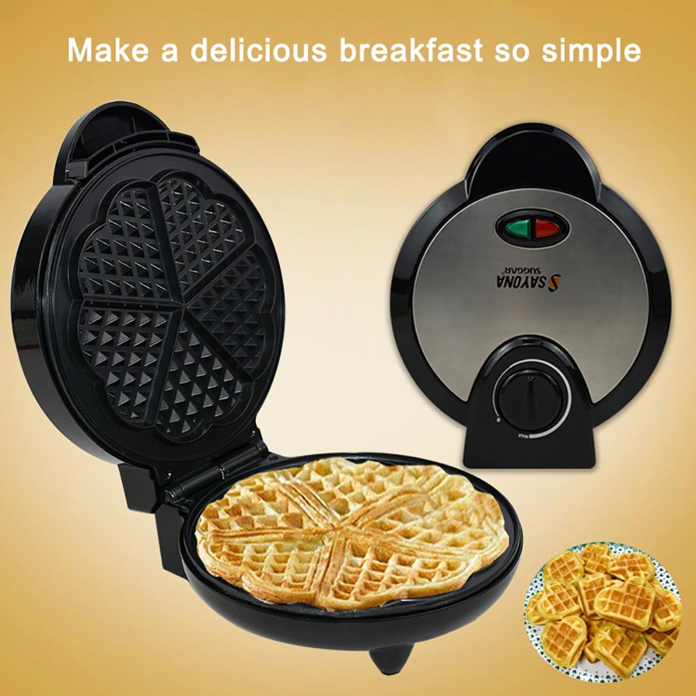 New Arrival Waffle Maker Muffin Double side Heating Electric Cake Pan Kids Breakfast Machine