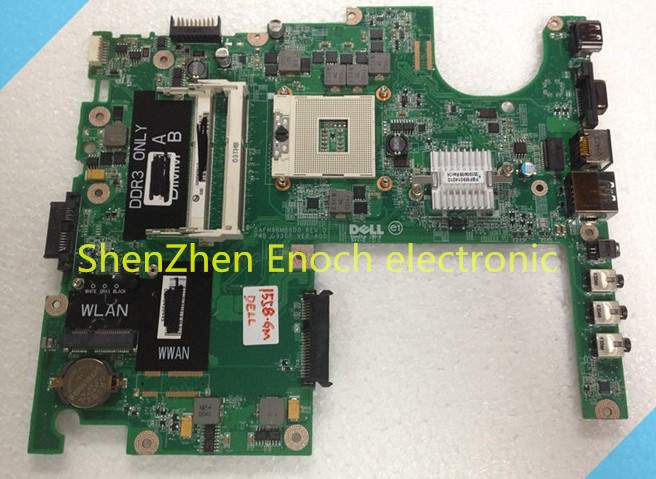 For dell studio 1558 font b motherboard b font for intel integrated DAFM9BMB6D0 60days warranty