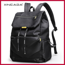 XINCADA Shopping Male Sumka Black add Backpack For Men Girls Rope Characters Design Personality Package Bag 15.6 Laptop