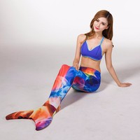 Myle Factory Unique Design Best Christmas Gift For Mother Adult 7 Color 3 Size Swimming Mermaid