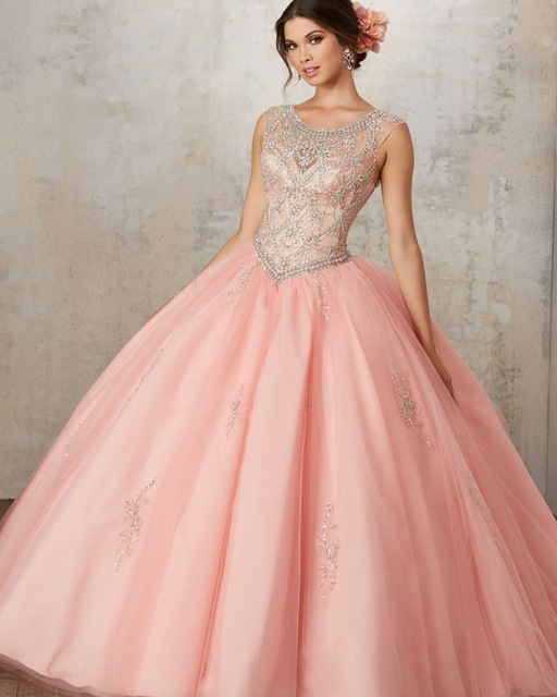 Vestidos De 15 Anos Debutante Gown Cheap Puffy Ball Gown Quinceanera ...