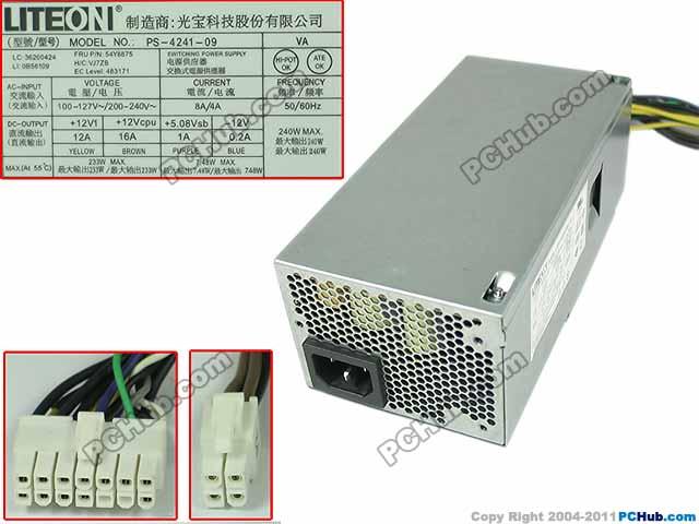 54Y8875 Lenovo Power Supply