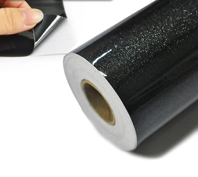 En Soldes Papier Peint Noir Rouleau Auto Adhesif Vinyle