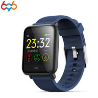 696 smart bracelet Q9 ip67 waterproof fitness tracker with heart rate monitor stopwatch clock smartband for men women