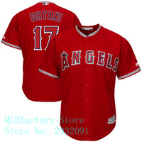 Men S Los Angeles Angels Shohei Ohtani Majestic Scarlet Alternate Cool Base Player Jersey