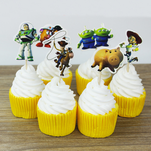Toy Story Cupcake Toppers (24)