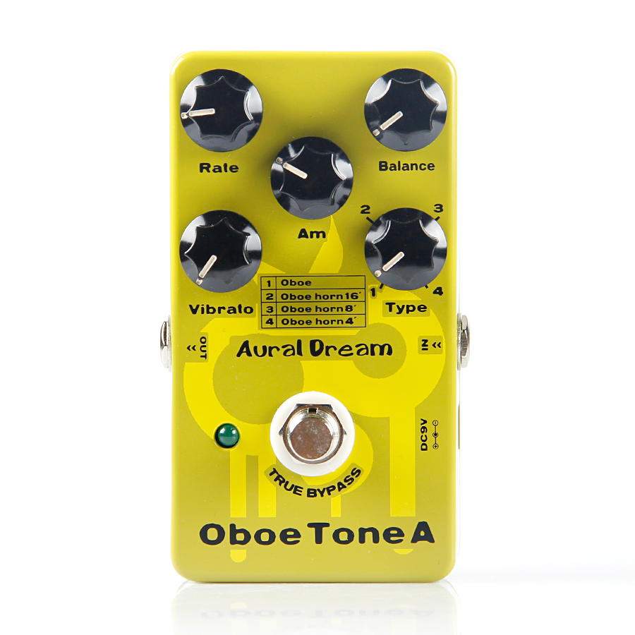Aural Dream Oboe Tone A Synthesizer guitar pedal through the tone synthesis algorithm into the Oboe Tone signal fivetimesone дизайнерская диванная подушка tone
