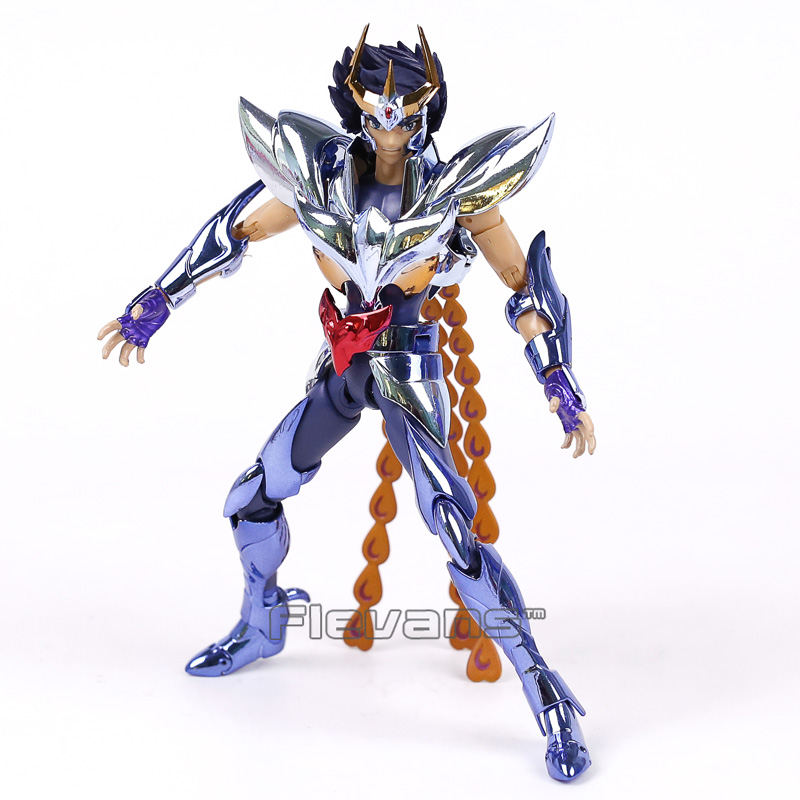 Saint Seiya Myth Cloth Shun / Hyoga / Ikki Action Figure Collectible Model Toy 17cm 3 Styles saint seiya saint cloth myth hades pvc action figure collectible model toy