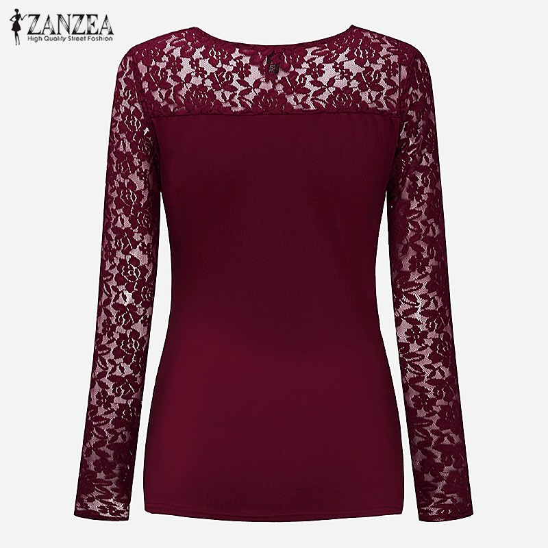 HTB1ARNEOXXXXXbKXpXXq6xXFXXXs - Women Lace Blouses Tops 2017 Autumn Sexy V Neck Long Sleeve