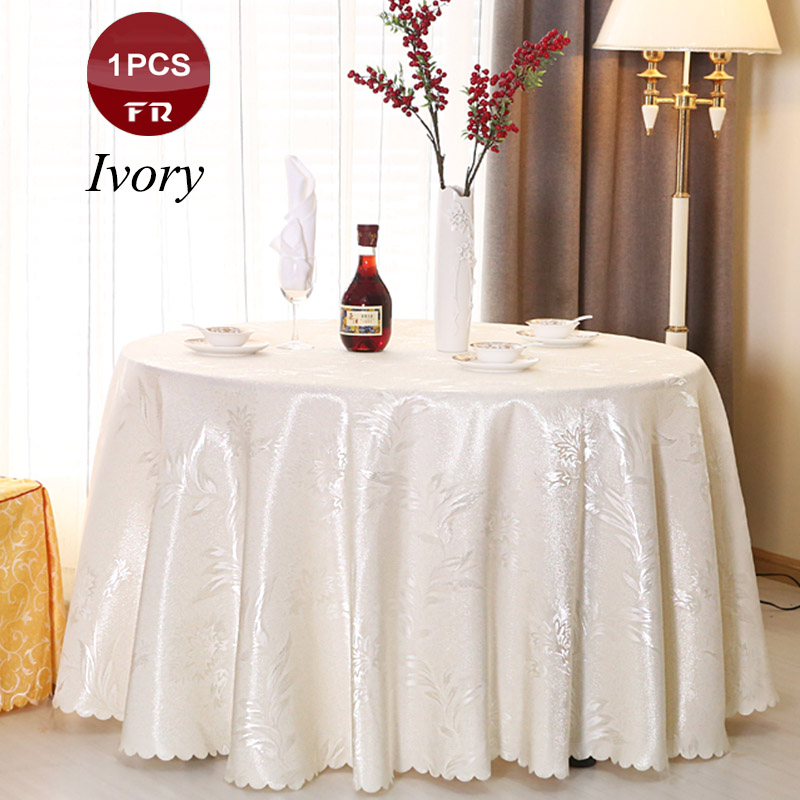 Best Sale 1PC Tablecloths For Wedding Round Rectangular Table Cloth Of  Hotel Restaurant Party Decoration Textile Factory Supply  In Tablecloths  From Home ...