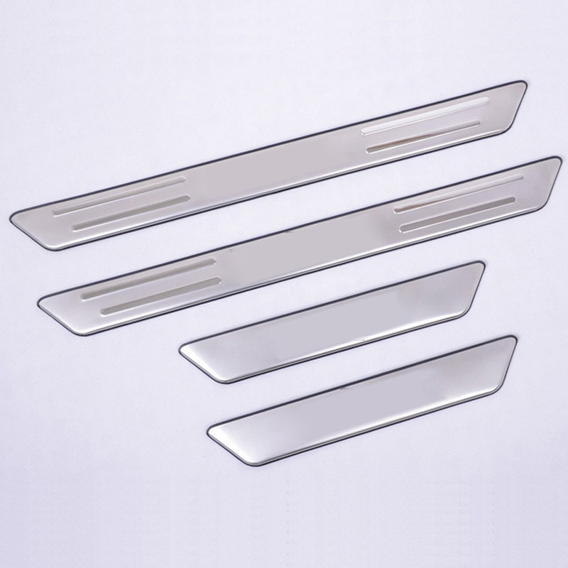 For KIA Soul 2010 2011 2012 2013 Stainless steel Door Sill Scuff Plate welcome pedal Threshold & Online Get Cheap Door Tread Plate -Aliexpress.com | Alibaba Group Pezcame.Com