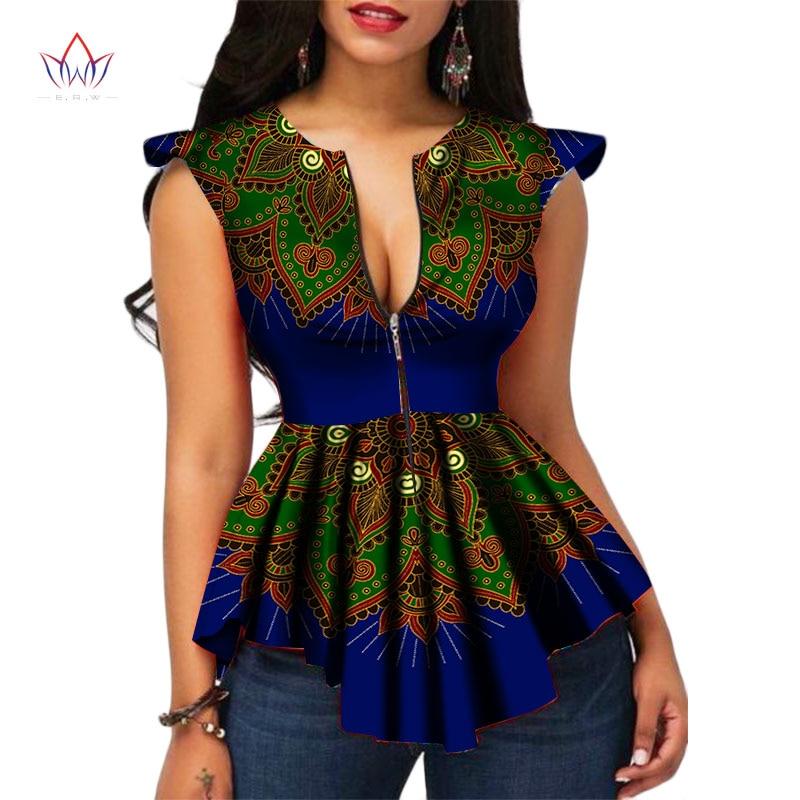 African Women Fashion: 2018 BRW Africa Style Women Modern Fashions Womens Tops