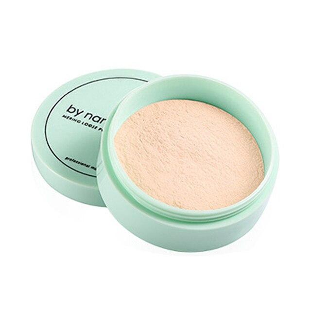 Maquillaje de polvo suelto translúcido cosmético resistente al agua base de acabado en polvo de contorno de acabado en polvo 3 colores