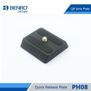 Image 1 - Benro PH08 سريعة الإصدار بلايت المهنية الألومنيوم PH 08 لوحة ل Benro BH0 BH1 HD1 رئيس شحن مجاني