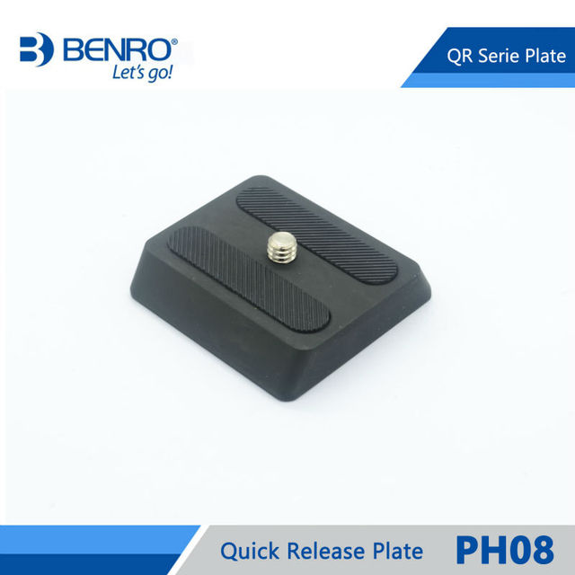 Benro PH08 Quick Release Plate Professional Aluminum PH 08 Plate For Benro BH0 BH1 HD1 Head Free Shipping