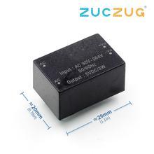 AC-DC 220 5В 600mA 3 W/1000mA 5 Вт понижающий изолированный Питание модуль интеллигентая(ый) бытовой выключатель Питание модуль