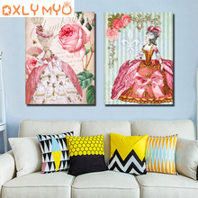 3d Diamond Mosaic Home Decor Embroidery diy diamond Painting Cross Stitch kit Retro European Picture