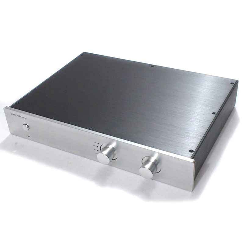 4307 Full aluminum Preamplifier enclosure Power amplifier chassis DAC Decoder case/box 430*70*308mm wa60 full aluminum amplifier enclosure mini amp case preamp box dac chassis