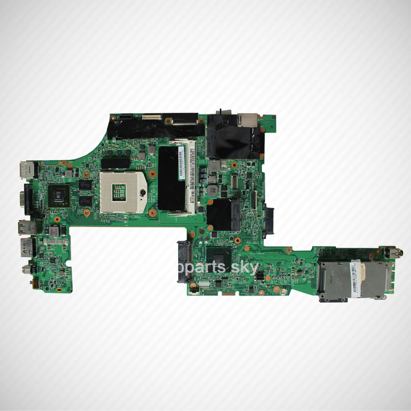 For Lenovo ThinkPad T520 laptop motherboard 04W3254 DDR3 QM67 NVIDIA N12P-NS1-S-A1 new fru 04w2021 p0b01900 for lenovo thinkpad t520 t520i laptop motherboard intel qm67 nvidia geforce nvs4200m graphics