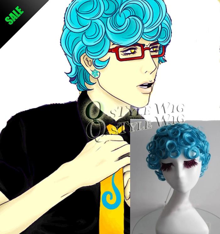 jojo's bizarre anime cosplay wig