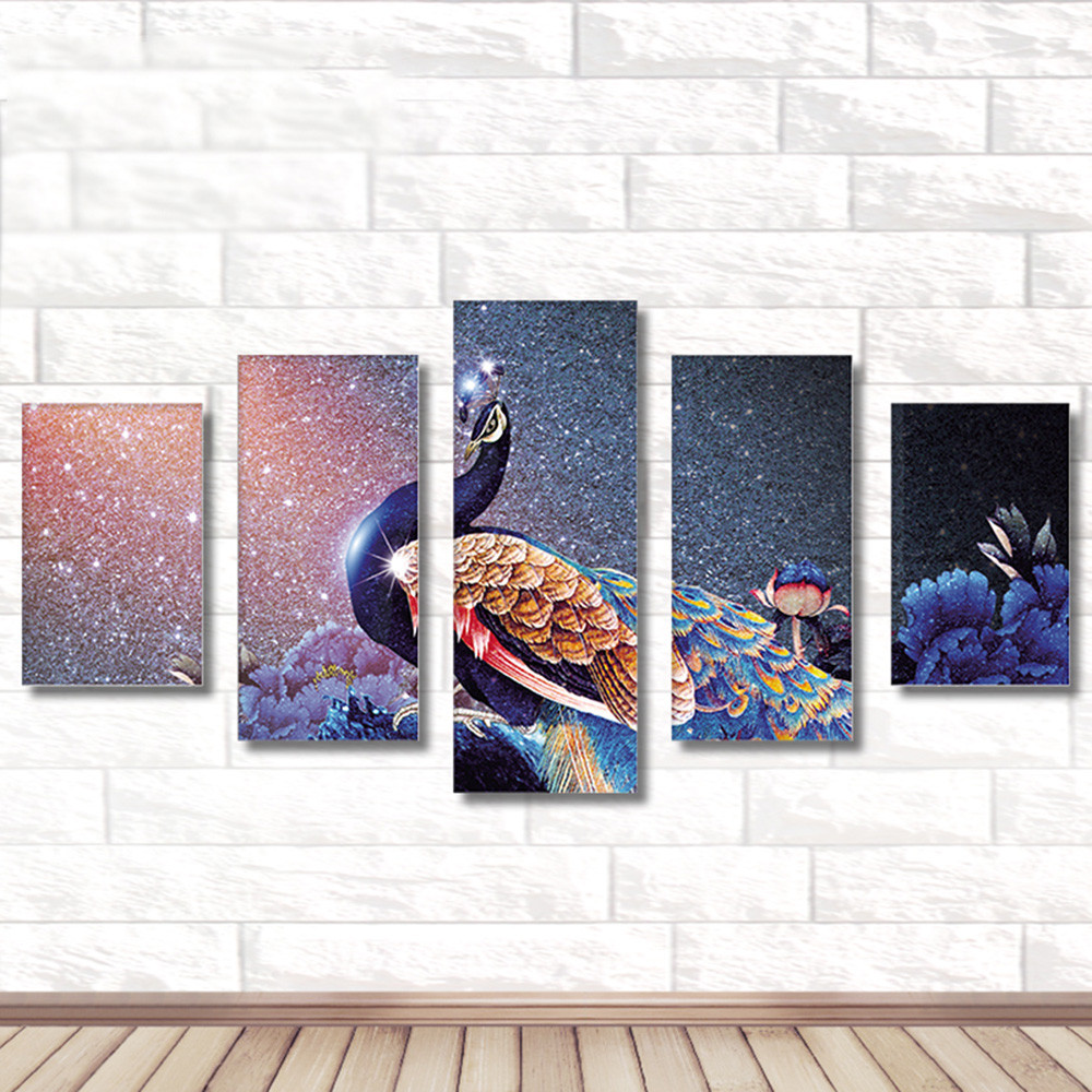 Full Drill DIY 5D Painting Embroidery Cross Crafts Stitch Kit Home Decor Diamond