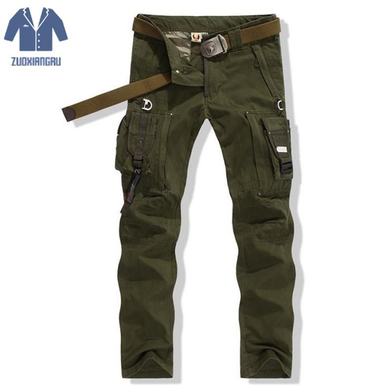 Haute qualité survie armée Fans hommes pantalons salopettes pantalon tactique spécial armée militaire tactique pantalon pas de ceinture