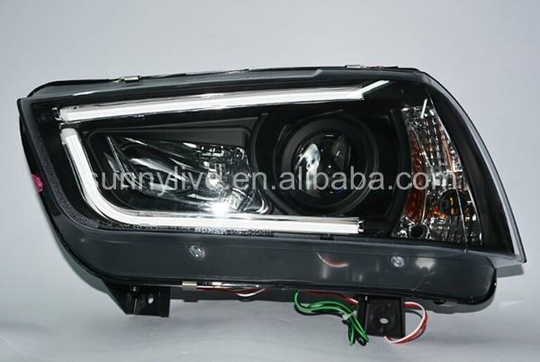 2011- год для Dodge charger светодиодный фонарь для фар светодиодный налобный фонарь черный корпус SN