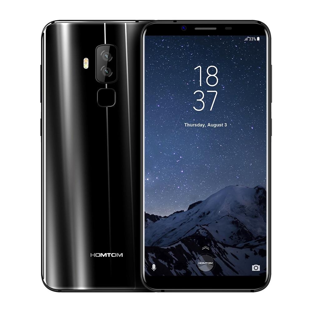 HOMTOM S8 4G Smartphone 1,5 GHz Octa Core 5,7 pulgadas MTK6750T inteligente gesto dedo escáner 4 GB RAM 64 GB ROM 16.0MP 5.0MP del teléfono celular