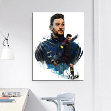 France Team Goalkeeper Hugo Lloris Wall Pictures Canvas Painting Print Living Room Home Decoration Modern Wall Art Oil Painting все цены